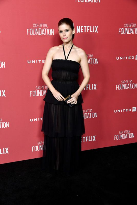 KATE MARA at Sag-Aftra Foundation Patron of the Artists Awards in Beverly Hills 11/09/2017