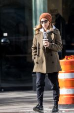 KATE MARA Out in New York 11/15/2017