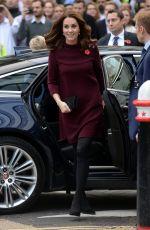 KATE MIDDLETON Arrives at UBS Building in London 11/08/2017