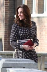 KATE MIDDLETON at Foundling Museum in London 11/28/2017
