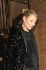 KATE MOSS at Louis Vuitton x Vogue Party in London 11/21/2017