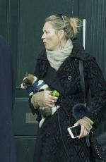 KATE MOSS Out in London 11/12/2017