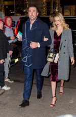 KATE UPTON and Justin Cerlander Out for Dinner at Polo Bar in New York 11/17/2017