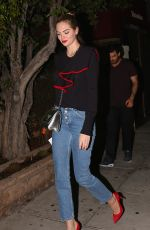 KATE UPTON Night Out in Beverly Hills 11/15/2017