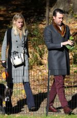 KATE UPTON Out at Central Park in New York 11/17/2017