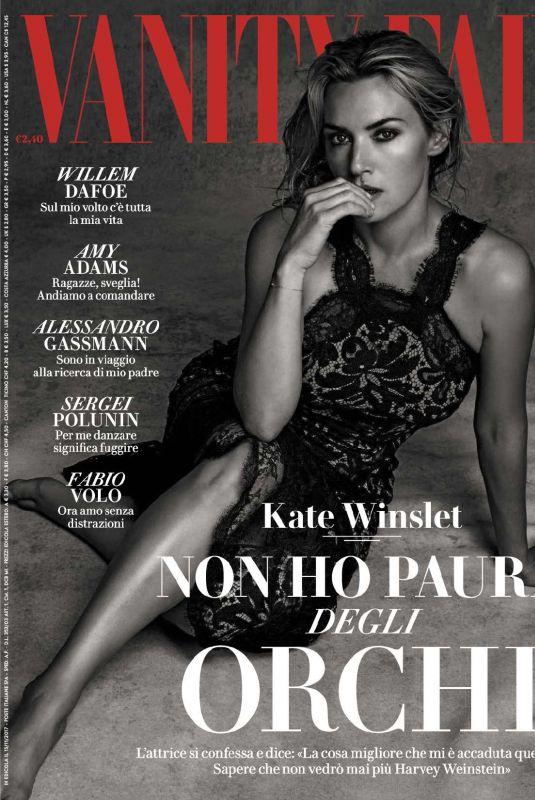 KATE WINSLET in Vanity Fair Magazine, Italy November 2017 Issue