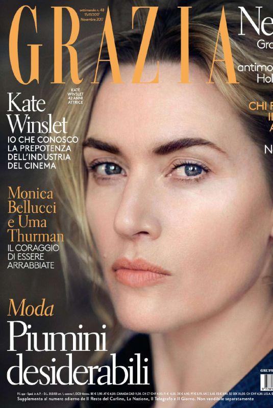 KATE WISNLET in Grazia Magazine, Italiy November 2017 Issue