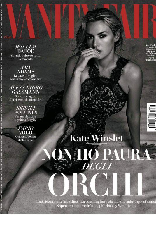 KATE WISNLET in Vanity Fair Magazine, Italy November 2017