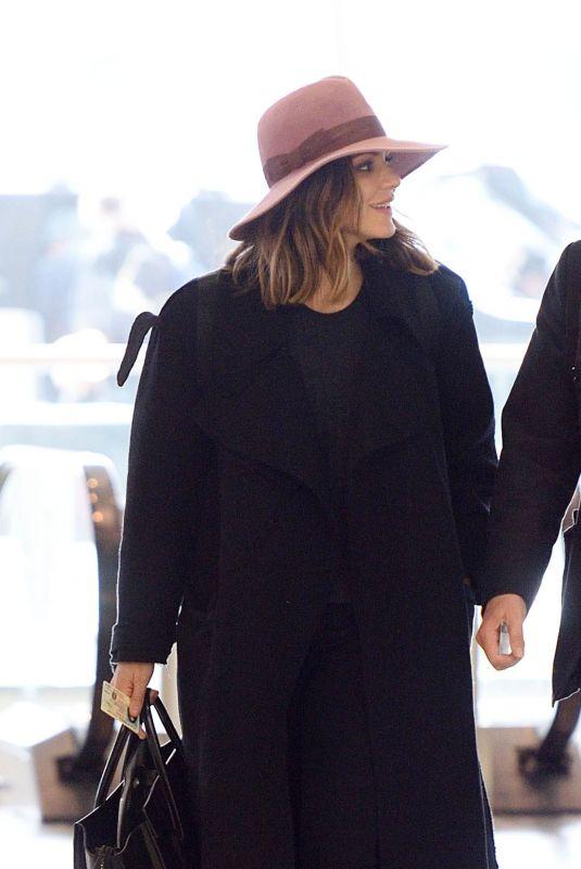 KATHARINE MCPHEE and David Foster at JFK Airport in New York 11/27/2017