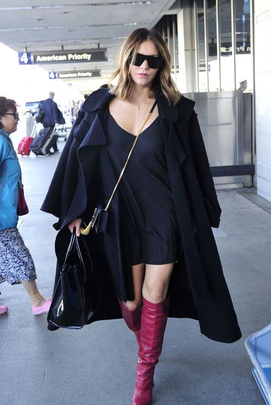 KATHARINE MCPHEE at Los Angeles International Airport 11/19/2017