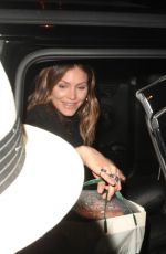 KATHARINE MCPHEE at Madeo Restaurant in West Hollywood 11/08/2017