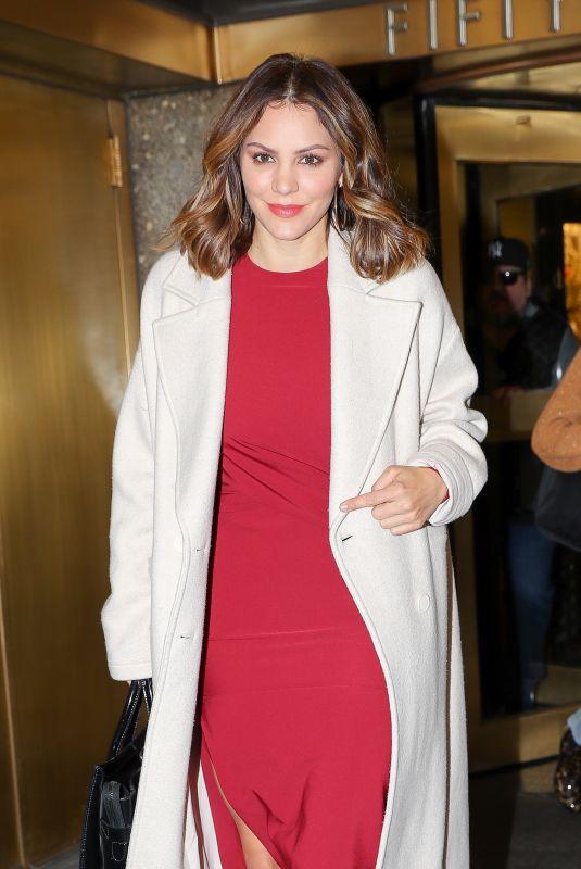 KATHARINE MCPHEE Leaves NBC Studios in New York 11/22/2017