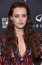 KATHERINE LANGFORD at HFPA & Instyle Celebrate 75th Anniversary of the Golden Globes in Los Angeles 11/15/2017