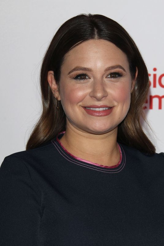 KATIE LOWES at Television Academy Hall of Fame Induction in Los Angeles 11/15/2017