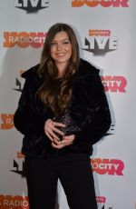 KATIE LYON at Radio City Christmas Live 2017 Gig in Liverpool 11/10/2017