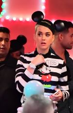 KATY PERRY at Disneyland in Anaheim 11/13/2017