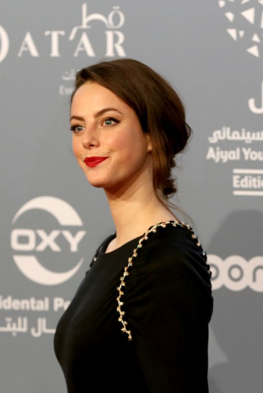 KAYA SCODELARIO at Ajyal Youth Film Festival Opening in Doha 11/29/2017