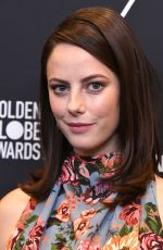 KAYA SCODELARIO at HFPA & Instyle Celebrate 75th Anniversary of the Golden Globes in Los Angeles 11/15/2017