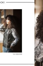 KAYLA MAISONET in A Book of Magazine, November 2017