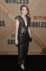 KAYLI CARTER at Godless Series Premiere in New York 11/19/2017