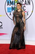 KEHLANI at American Music Awards 2017 at Microsoft Theater in Los Angeles 11/19/2017