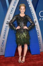 KELLIE PICKLER at 51st Annual CMA Awards in Nashville 11/08/2017