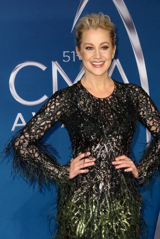 KELLIE PICKLER at 51st Annual CMA Awards in Nashville 11/08/2017