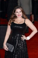 KELLY BROOK at Murder on the Orient Express Premiere in London 11/02/2017
