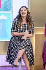 KELLY BROOK at This Morning Show in London 11/14/2017