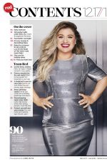 KELLY CLARKSON in Redbook Magazine, December/January 2017/2018