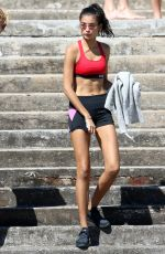 KELLY GALE Out and About at Bronte Beach 11/25/2017