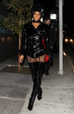 KELLY ROWLAND at Costume Couture Bash in West Hollywood 10/29/2017