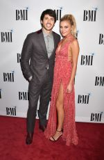 KELSEA BALLERINI at 65th Annual BMI Country Awards in Nashville 11/06/2017
