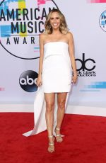 KELTIE KNIGHT at American Music Awards 2017 at Microsoft Theater in Los Angeles 11/19/2017