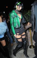 KENDALL JENNER Arrives at Halloween Party at Delilah in West Hollywood 10/31/2017
