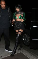 KENDALL JENNER Celebrates Her 22nd Birthday with a Halloween Party at Delilah in West Hollywood 10/31/2017
