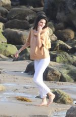 KENDALL JENNER on the Set of a Photoshoot in Malibu 11/07/2017