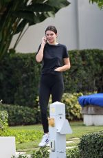 KENDALL JENNER Out and About in Miami 11/27/2017
