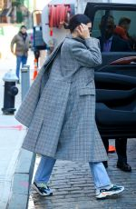 KENDALL JENNER Out and About in New York 11/20/2017