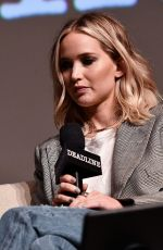 JENNIFER LAWRENCE at Deadline Hollywood Presents The Contenders 2017 in Los Angeles 11/04/2017