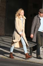 KERRY BISHE Out and About in New York 11/25/2017
