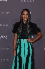 KERRY WASHINGTON at 2017 LACMA Art + Film Gala in Los Angeles 11/04/2017