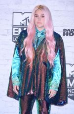 KESHA at MTV EMA's 2017 Build Up in London 11/11/2017