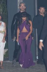 KIM KARDASHIAN as Late Singer Selena Quintanilla-Perez Arrives at a Halloween Party in Los Angeles 10/31/2017