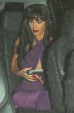 KIM KARDASHIAN as Late Singer Selena Quintanilla-Perez Arrives at a Halloween Party in Los Angeles 10/31/2017
