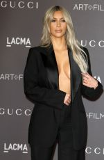 KIM KARDASHIAN at 2017 LACMA Art + Film Gala in Los Angeles 11/04/2017