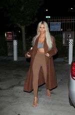 KIM KARDASHIAN Leaves a Photoshoot in Los Angeles 11/28/2017
