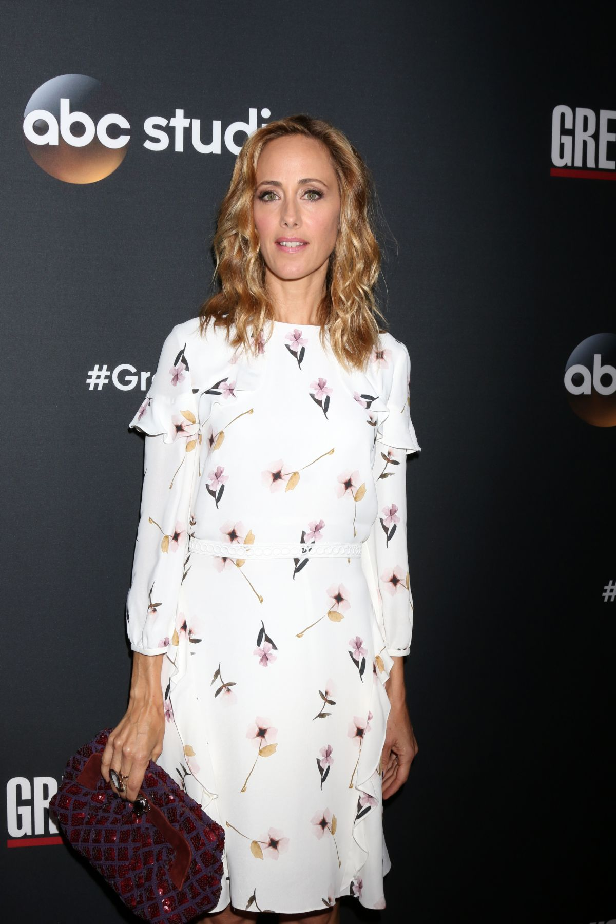 KIM RAVER at 300th Grey\'s Anatomy Episode Celebration in Hollywood ...