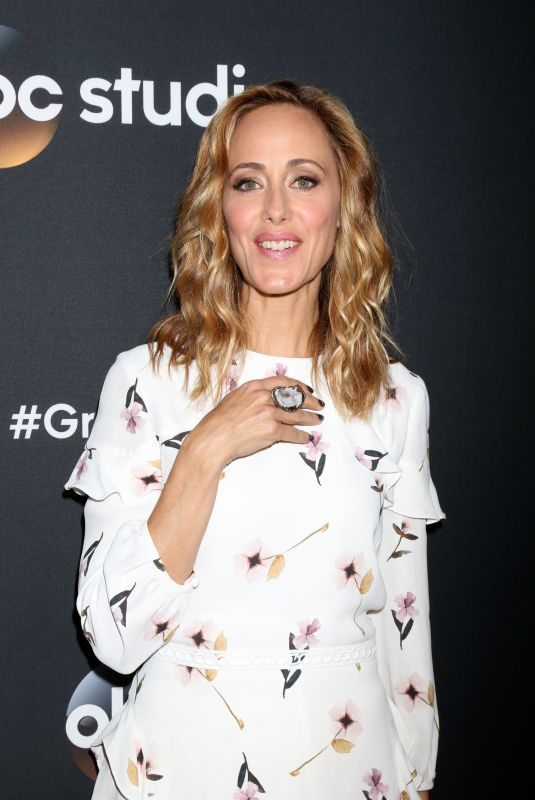 KIM RAVER at 300th Grey's Anatomy Episode Celebration in Hollywood 11/04/2017
