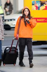 KIM TURNBULL at Tegel Airport in Berlin 11/08/2017